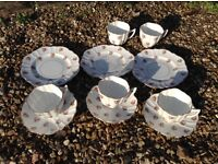 China cups and saucers etc