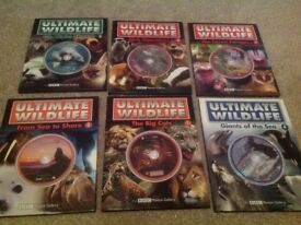 Ultimate Willdlife (7 books) with DVD. By BBC Motion Gallery