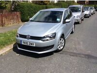 VW Polo 1.4 SE . £5,150 MOT June 2018, 5 dr silver hatchback