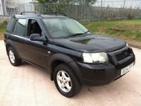 2004 LAND ROVER FREELANDER 4X4 TD4 SE DIESEL RUNSAND DRIVES WELLGOOD CONDITION FOR AGE AND MILEAGE .