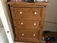 Mexican pine chest of drawers X 2 !!