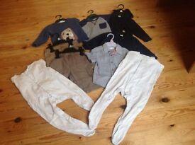 Bundle boy clothes 1-2 years