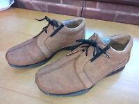 Rohan Cordoba Mens Shoes Size Uk 9 - Euro 43 Authentic NuBuck leather Shoes Colour is Larson Tan