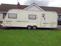 AVONDALE ARGENTE 640-6 6 Berth Caravan Twin axel