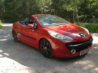 PEUGEOT 207 cc SPORT. Full service history. Excellent condition.