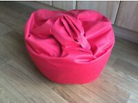 Child's red beanbag pick up only