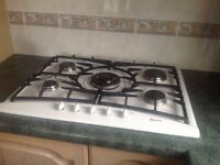 Neff 5 ring gas hob. Perfect condition. £50