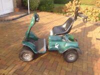 Grasshopper Junior Golf Buggy, excellent condition