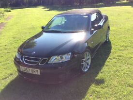 Saab 9-3 Convertible, 2007, 57 reg, Very Low Miles, Amazing Condition!