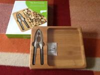 New bamboo nut cracker