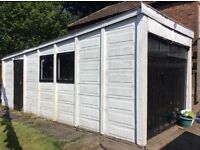 Free large concrete garage (requires dismantling)