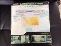 "Undercounter 7"" TV /Clock /Radio"