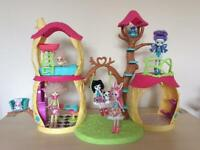Enchantimals Tree House and figures