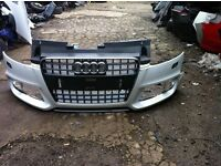 Audi TT 2012-2015 sline front bumper
