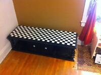 checker-board coffee table for sale 200.00 obo