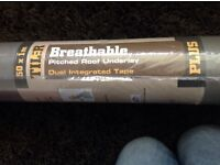 Brand new unopened 50 m roofing membrane
