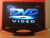 Ferguson 22 inch Slim HD LED TV built in Freeview, DVD, great condition
