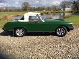 MG Midget in beautiful condition ready for a new owner to cherish and enjoy.