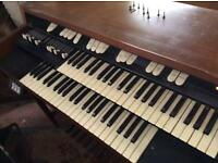 L102 Hammond Organ, stool and Sharma rotary cabinet