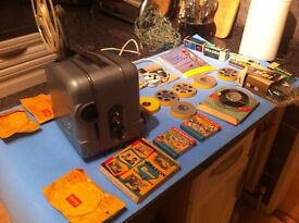 vintage projector 8mm plus extras 1964