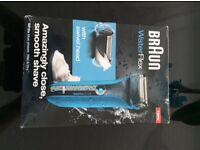 Braun water flex WF2S brand new in box unwanted present going for £120 on amazon