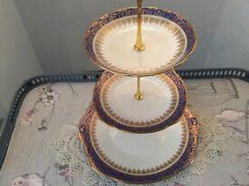 Duchess Bone China 3 Tier Cake Stand