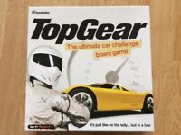 TOP GEAR BOARD GAME AS NEW