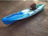 Ocean Kayak Scrambler 11 (Blue/Turquoise)