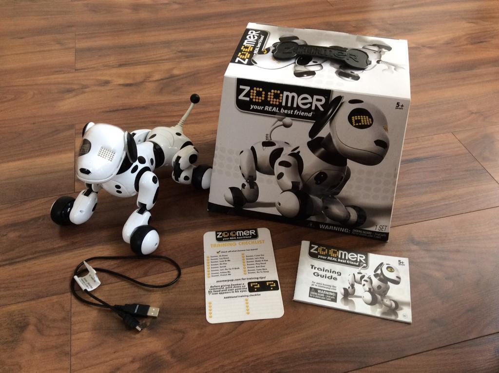 Zoomer Robotic Toy Dog