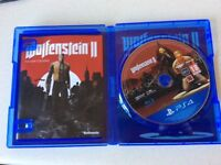 Playstation 4 Game Wolfenstein 2