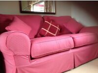 Laura Ashley settee with loose covers in excellent condition hardly used