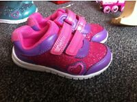 Girls shoes - immaculate condition- hardly touched the ground - size 5 E - (toddlers) £10