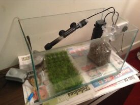 30 Litre Fish Tank with many extras