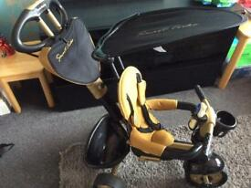 Smart Trike Dream 4 in 1 Touch steering Trike - Gold