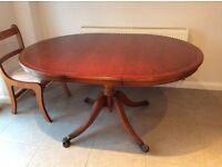 """Yew"" dining table"