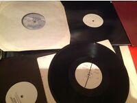 """Techno vinyl records 12"""" dance trance rare original 12"""" records"""