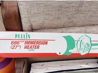 Pullin immersion heater brand new