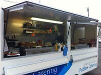 Catering van / burger bar / batch bar