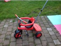 Red Toddler Smart Tike in Great Condition