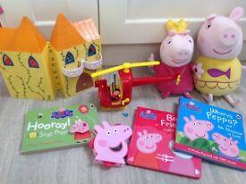 Peppa Pig Toy/ Book Bundle