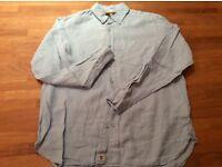 Timberland linen shirt long sleeve