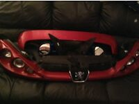 Peugeot 206 parts quad lights and boot spoiler