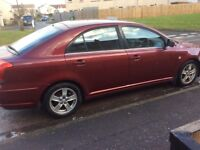 Toyota avensis spares and repairs