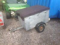 Caddy galvanised trailer