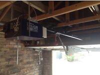 Electric garage door opener
