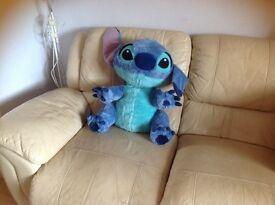 Large stitch character soft teddy bear.