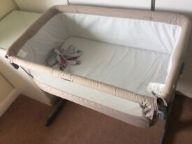 Next to me cot bed-great cond