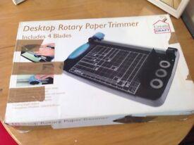 Desktop Rotary Paper Trimmer