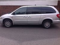 Chrysler Grand Voyager, Recon engine and Gear Box, brand new clutch, 8 seater or 7seater