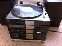 Vintage Sentra 980 vinyl record player system
